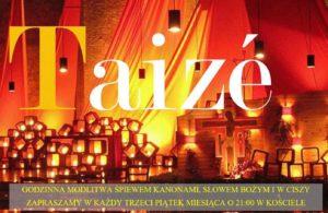 Czuwanie modlitewne w duchu Taizé