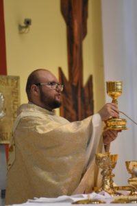 11:00 Msza św. imieninowa w intencji o. Sławomira Matoryna OMI